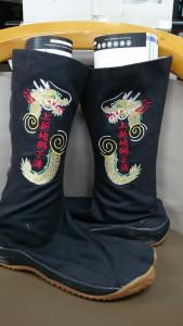 祭り 地下足袋 刺繍